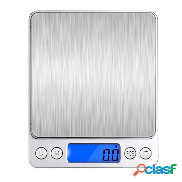 Bilancia 2000g 0.1g mini multi-unita di conversione digitale elettronica per cucina gioielli