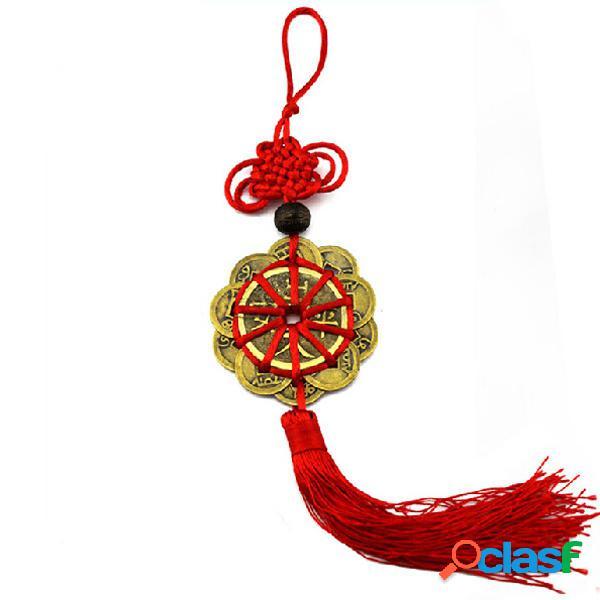 Fortunati monete antiche prosperità protezione feng shui mestieri mascotte