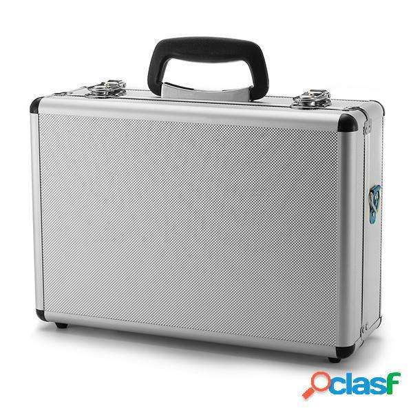 Scatola del trasmettitore di alluminio argento valigetta 35cmx23cmx12cm