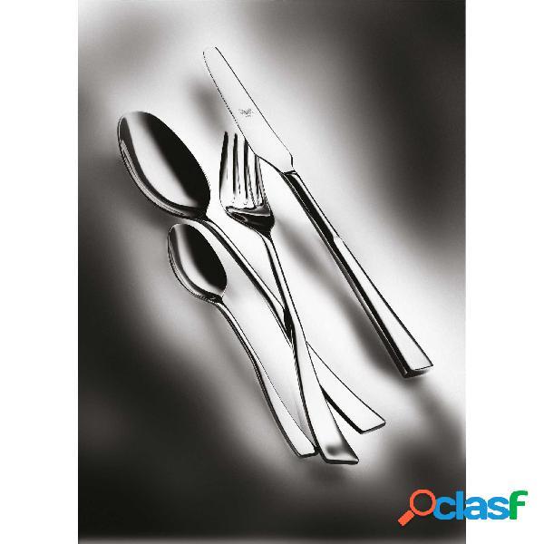 Servizio 49 pezzi italia in acciaio inossidabile, colore acciaio, lavabile in lavastoviglie