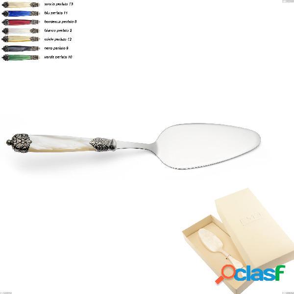 Confezione bomboniera 1 pezzo pala torta mirage, acciaio inox 18.10 (aisi 304)