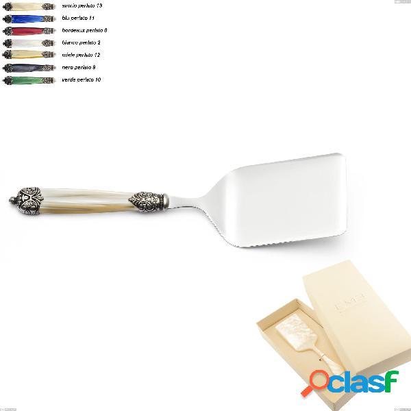 Confezione bomboniera 1 pezzo pala lasagne mirage, acciaio inox 18.10 (aisi 304)