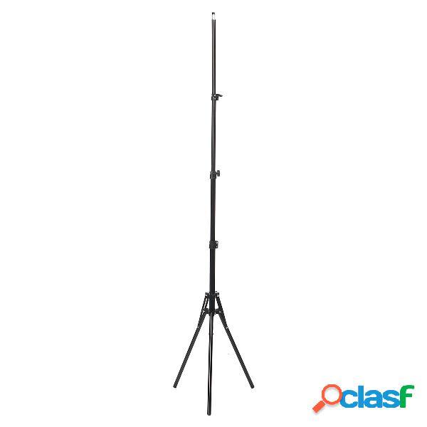 Supporto da 190 cm per studio fotografico flash supporto per cellulare con treppiede