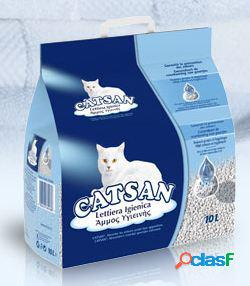 Cat san lettiera naturale per gatti lt 10