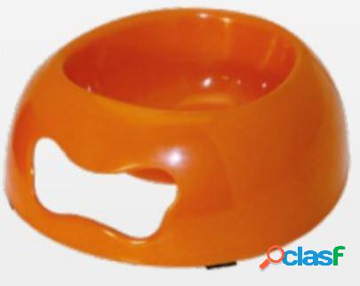 Croci ciotola per cani e gatti bon bon farfalla arancio ml 250