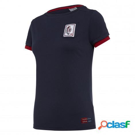 T-shirt cotone linea fan donna cagliari calcio 100° 2019/2020