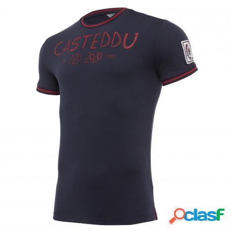 T-shirt centenario in cotone girone di ritorno senior cagliari calcio 2019/20
