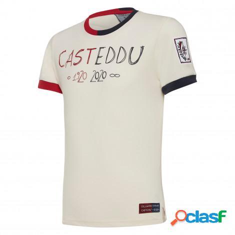 T-shirt cotone linea fan junior cagliari calcio 100° 2019/2020