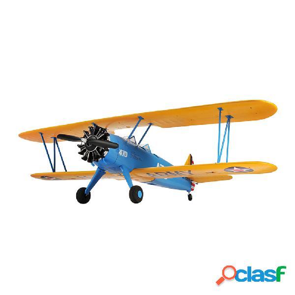 Hookll pt-17 biplano 1200mm apertura alare epo rc airplane kit / pnp velivoli ad ala fissa in scala ad ala fissa