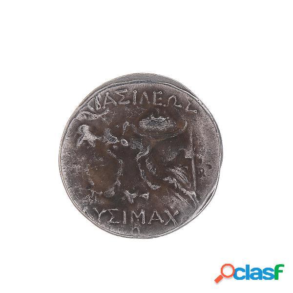 336-323 a.c., dracma placcato in argento, raro antico alessandro iii, le grandi decorazioni di monete greche