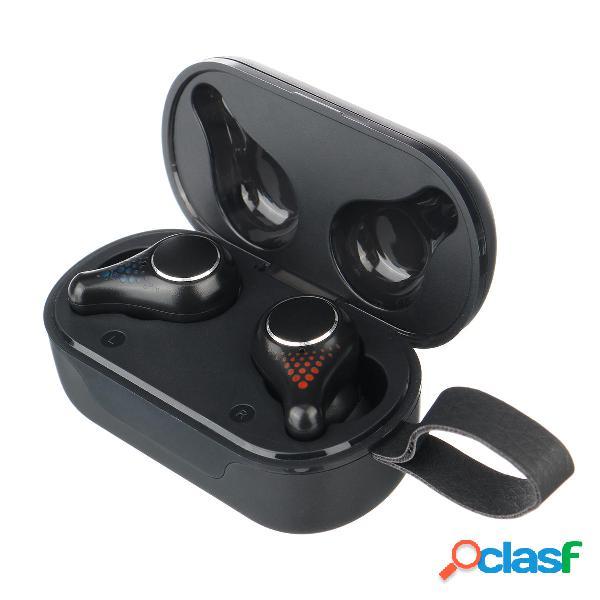 T8 tws bluetooth senza fili 5.0 auricolare cuffie cool fashion smart touch led display cuffie impermeabili con microfono