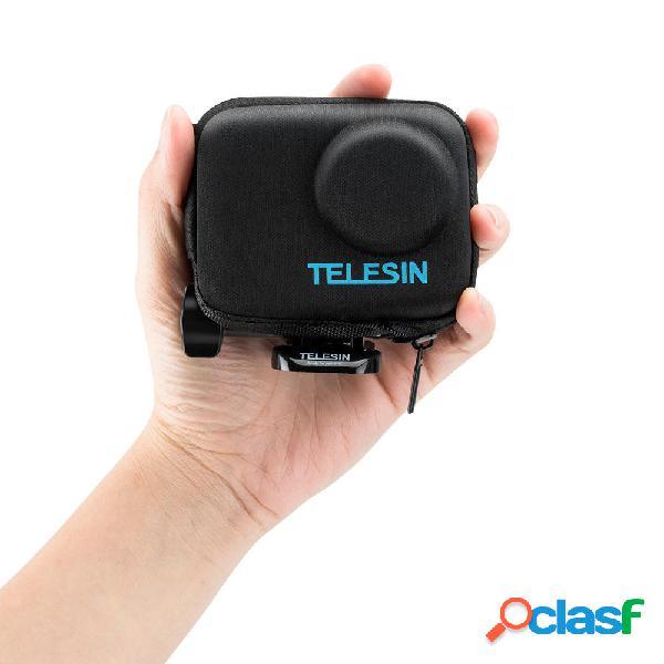 Telesin os-bag-003 cerniera di protezione protettiva borsa per dji osmo action sports fotografica