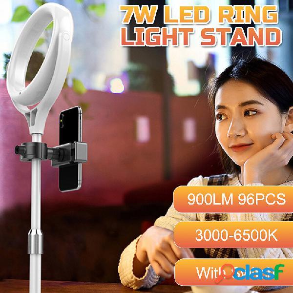 8 pollici 96pcs led kit supporto dimmerabile ad anello per trucco smart phone live / fotografica