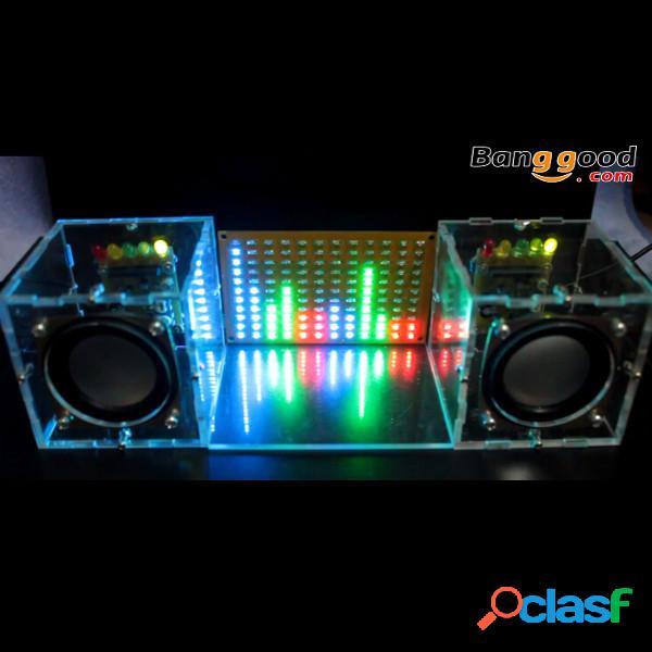 Con alloggiamento per musica da concerto spettro musicale led kit flash kit amplificatore fai-da-te