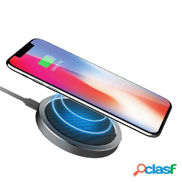Rock w4 2a qi caricabatteria per caricabatteria veloce wireless per iphone x 8 / 8plus samsung s8 s7 iwatch 3