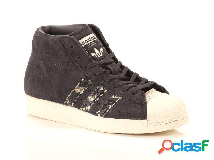 Adidas promodel black white, 36, 38, 40 donna, grigio