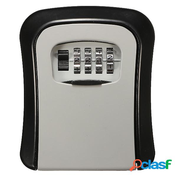 Chiave per il montaggio a parete serratura memorizzazione scatola porta di sicurezza con chiave a chiave serratura con p