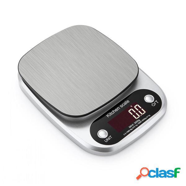 Bilancia elettronica digitale lcd 10 kg cucina domestica scala peso alimentare scala postale
