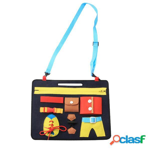Tavolo da disegno educativo prescolare di toy toy felt board children che impara il regalo dei giocattoli