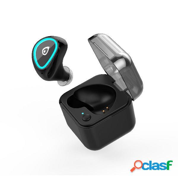 M19 mini single bluetooth auricolare auricolari wireless per musica con custodia di ricarica per cellulari
