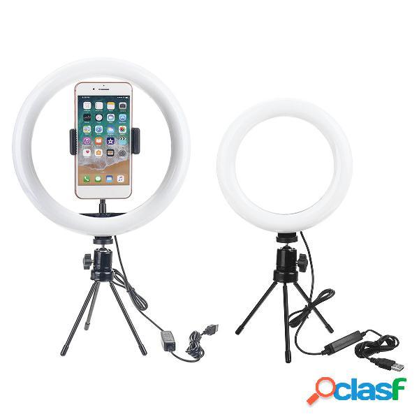 Dimmerabile led anello luminoso lampada 18cm 26cm luce di riempimento per trucco streaming live selfie fotografia regist