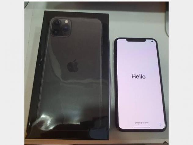 Iphone 11 pro max 256gb space grey nero nuovo nuovo