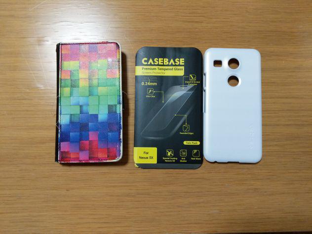 Nexus 5x + batteria nuova bl-t19 +custodie - vetro temperato