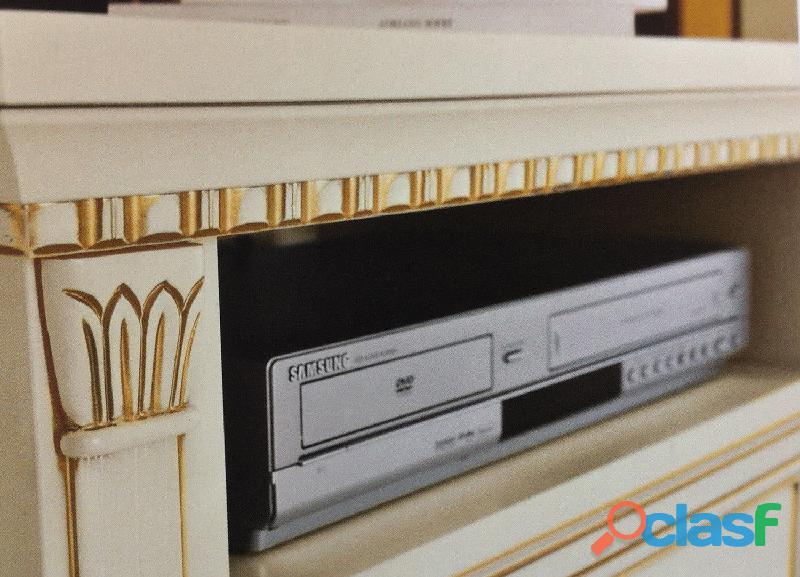Base porta TV colore bianco Arte povera 1