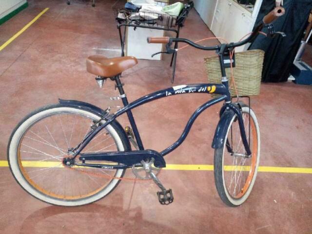 Bicicletta d/u cestino unieuro