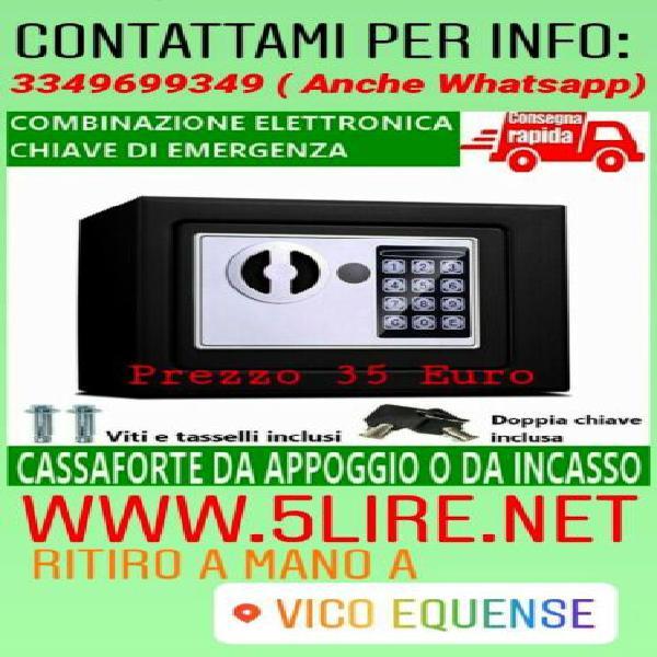 Cassaforte a mobile elettronica con chiave / combinazione