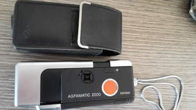 Macchina fotografica agfamatic 2000 sensor