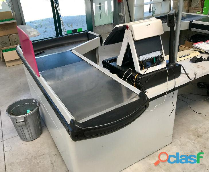 Banco cassa Sidac Metal System usato OTTIME CONDIZIONI