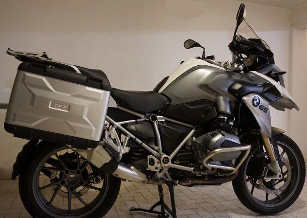 Moto bmw r1200gs lc