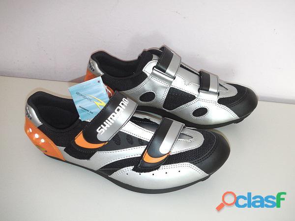 Scarpe bici corsa Shimano SH R096 TG 46 NUOVE