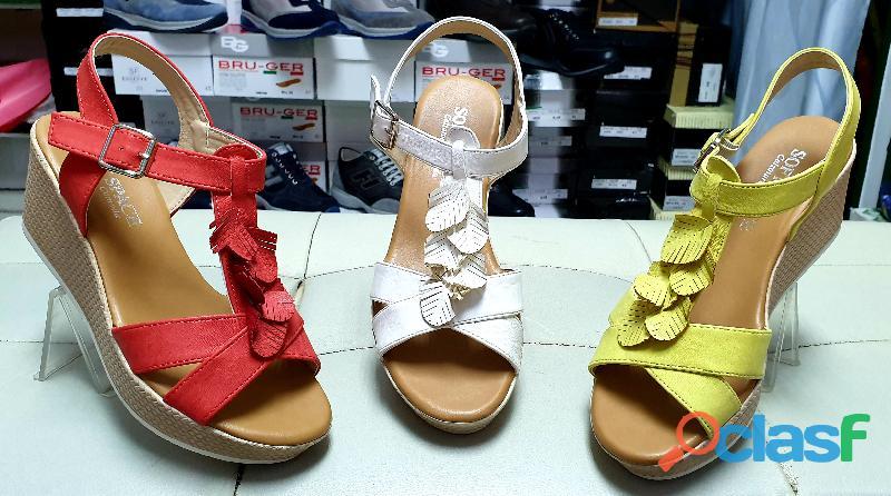Sandalo comodo donna