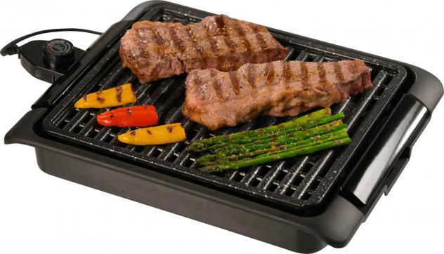Bistecchiera elettrica 1250w starlyf smoke free grill