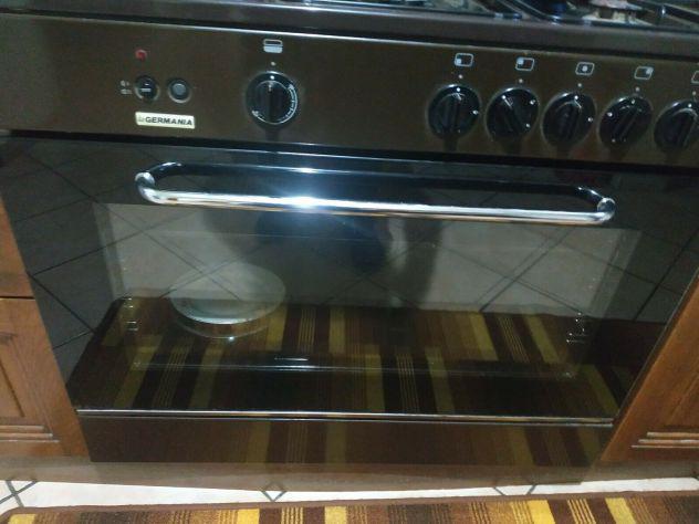 La germania cucina a gas con forno a gas grill 5 fuochi