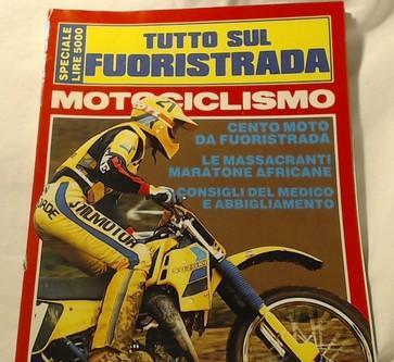 Motociclismo Tutto Sul Fuoristrada 1984. Correggio