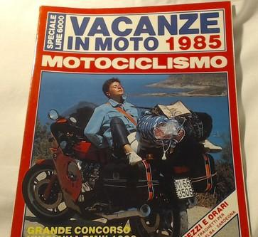 Motociclismo Vacanze In Moto 1985. Correggio