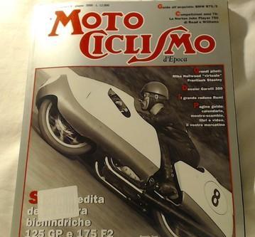 Motociclismo d'epoca 06/2000 garelli 350-gilera 125 gp ecc.