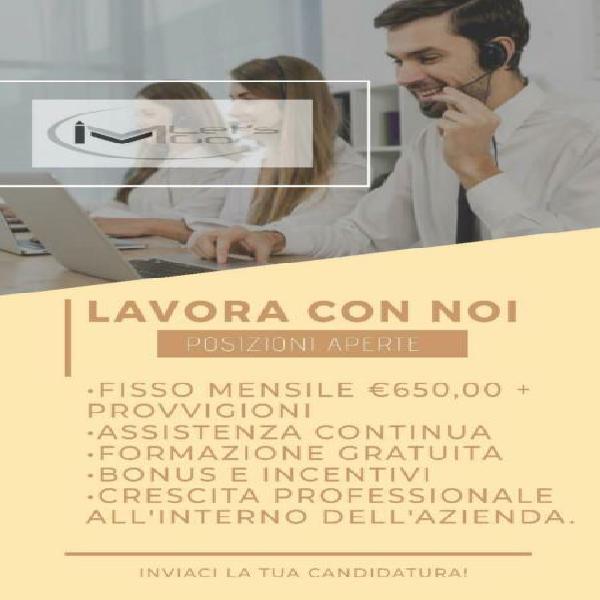 Operatore Telefonico FISSO + PROVV