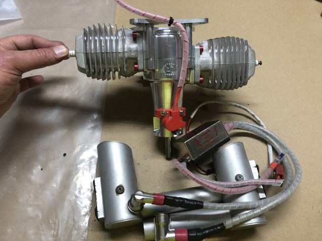 Vendo motore da 70cc twin
