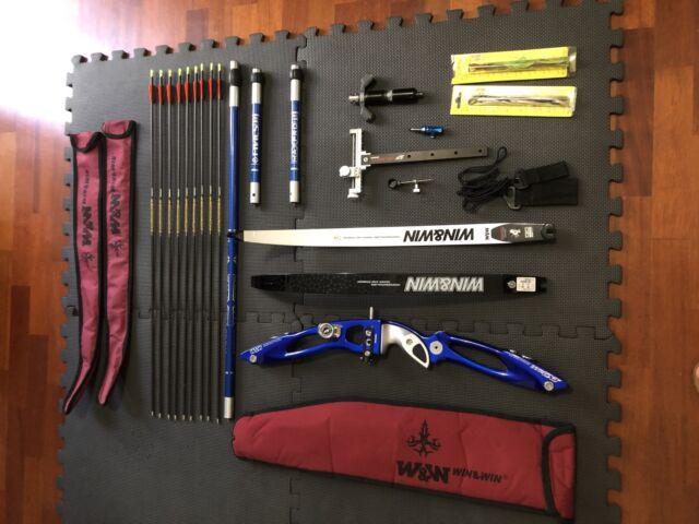 Arco olimpico win&win inno cxt carbonio e accessori