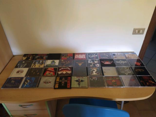 Cd musica rock/metal