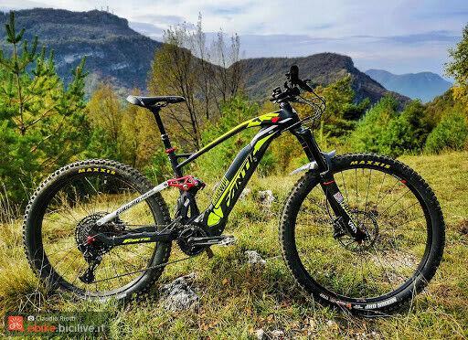 E-bike fantic xf1 integra 160 2020 nuova demo