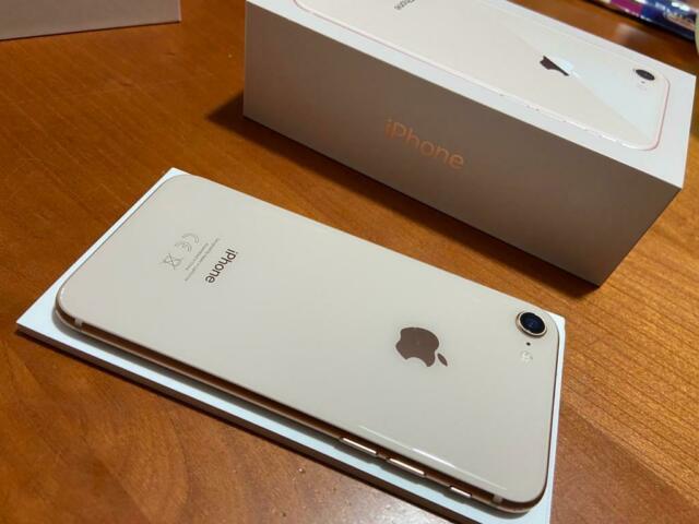 Iphone 8 gold 64gb usato