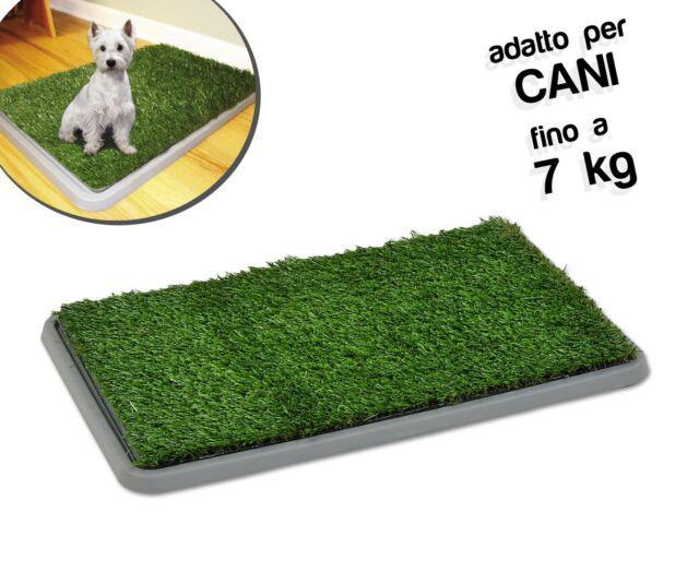 Lettiera 68 x 43 x 5 cm erba sintetica per animali domestici