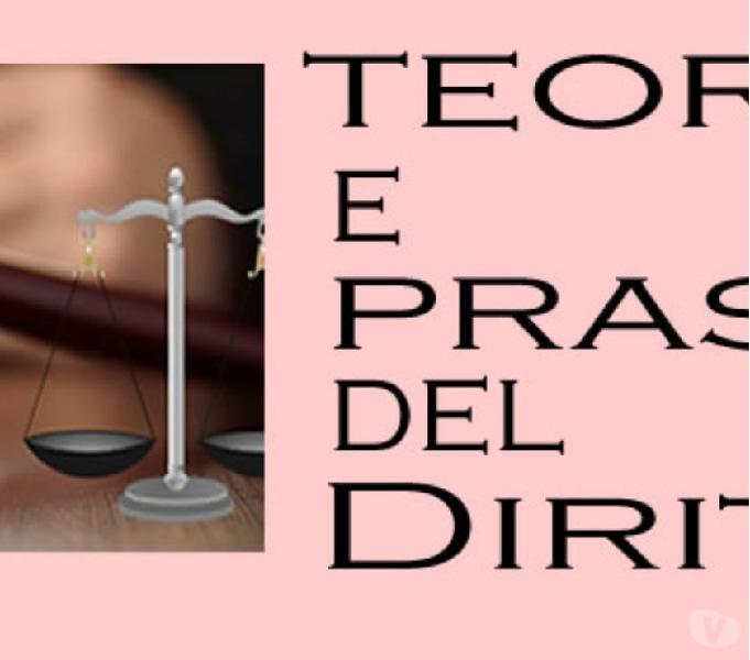 Lezioni individuali on line diritto e consulenza tesi