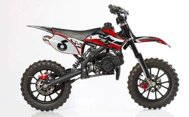 Minicross kxd 49cc 708 nuovo