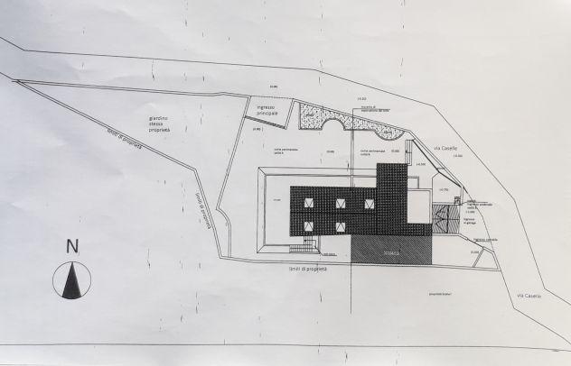 Complesso residenziale - ville plurifamiliari a san cipriano